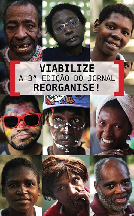 """Campanha """"Viabilize a 3ª edição do Jornal Reorganise"""""""