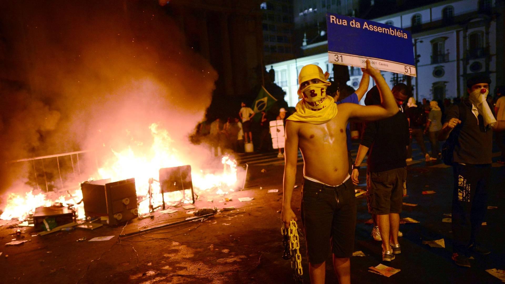 Jornadas de Junho 2013 no Rio de Janeiro