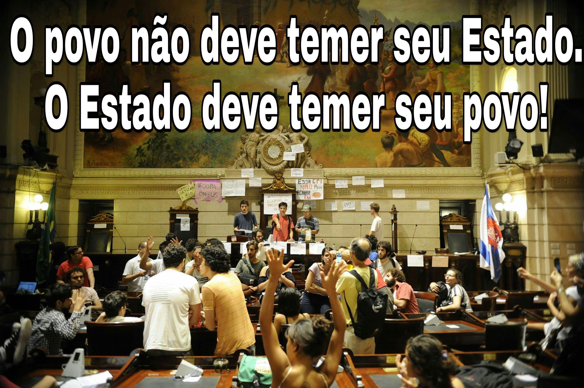 Ocupação da Câmara dos Vereadores do Rio de Janeiro - 2013